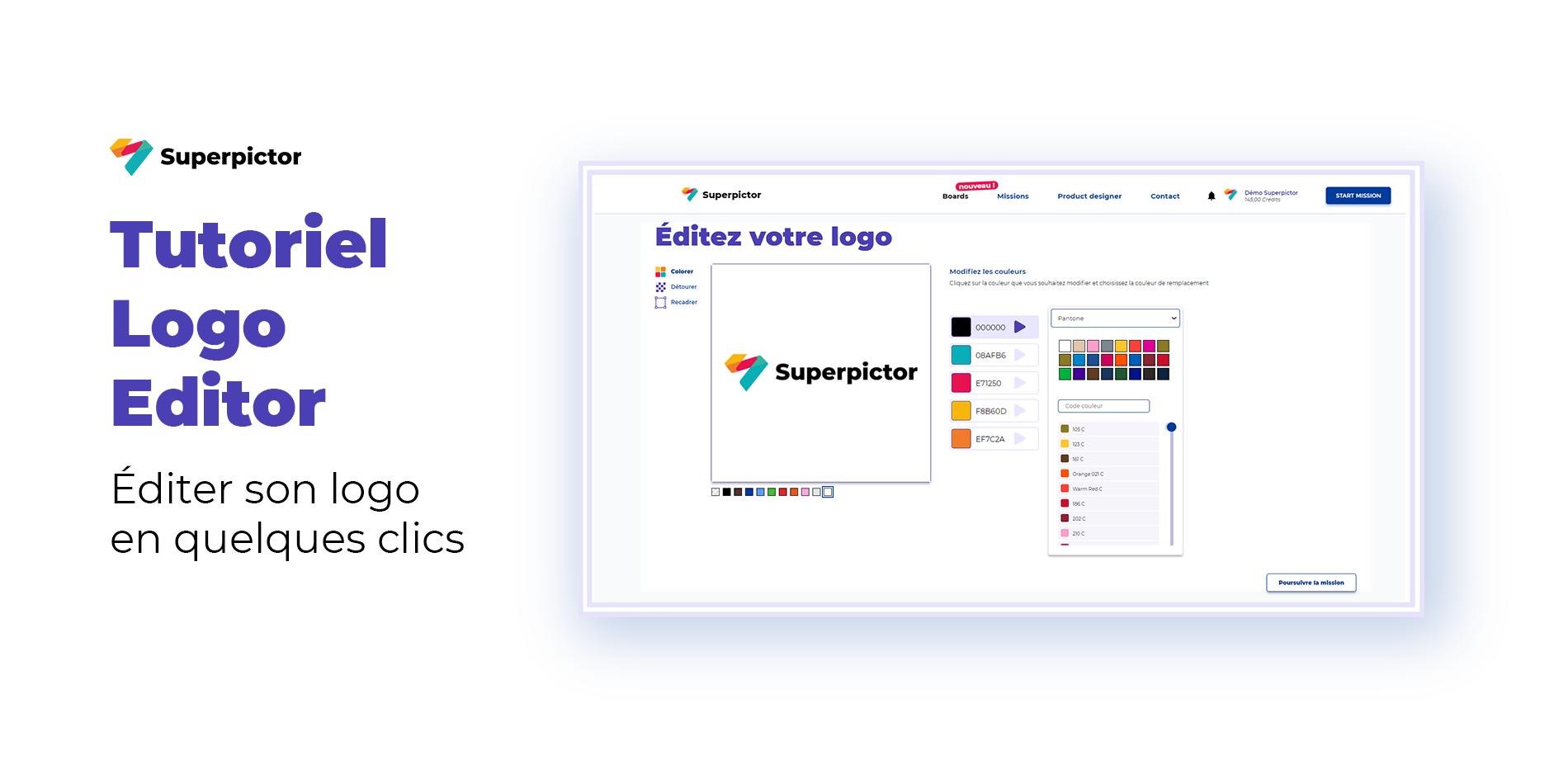Logo Editor : éditez vos logos rapidement ! 🎨