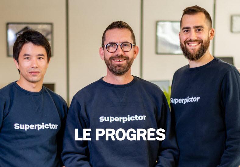 Le Progrès | Superpictor vise les marchés allemand et anglais